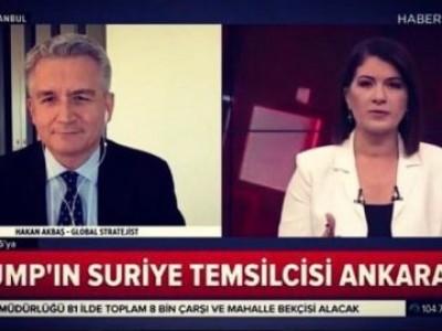 US Syria representative James Jeffery's visit in Ankara