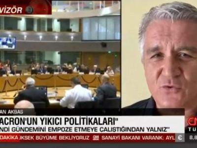 CNNTürk'te Macron ile Türkiye-Fransa ilişkileri ve D. Akdeniz krizini konuştuk