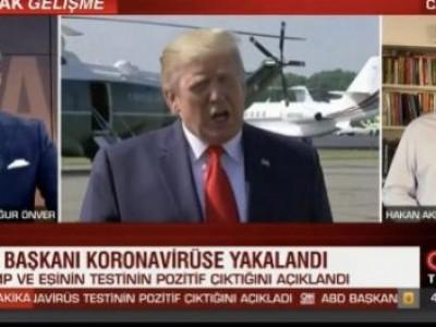 CNNTürk'te Trump'ın Korona Olması ve Etkilerini Konuştuk