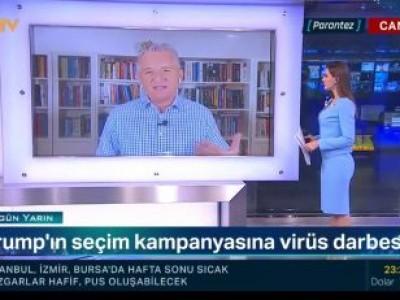 Akbaş on NTV on Trump's Health, East Med crisis, Azerbaijan-Armenia Conflict