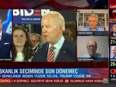 US Presidential Elections on CNN Türk