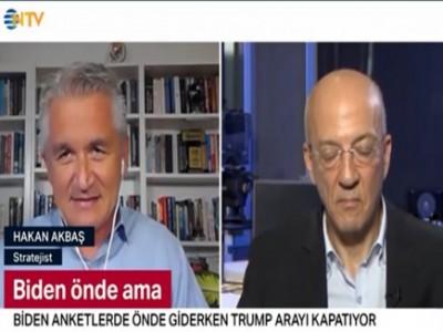 NTV'de Amerikan Başkanlık Seçimlerini tartışıyoruz