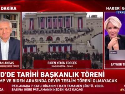 Tarihi Başkanlık Törenini Haber Global'de Saynur Tezel ile konuştuk