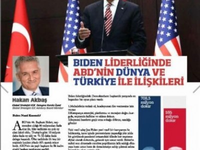 We discuss on the Global Journalism Council magazine upcoming relations between US and Turkey