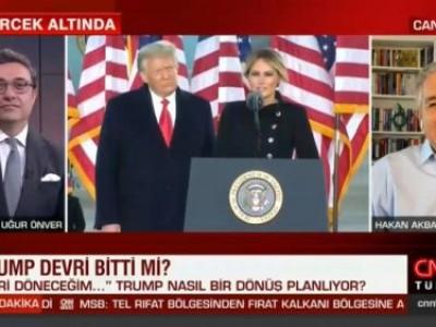 CNN Türk'de Uğur Önver ile Trump'ın demecini tartıştık