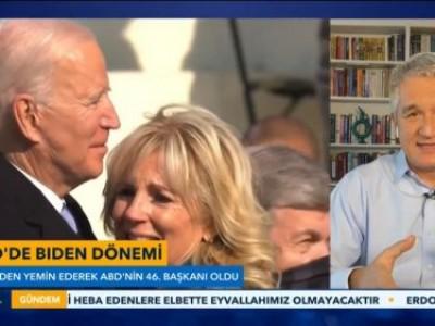 TV Net'de Amerika'nın 46. Başkanı Joe Biden'i değerlendirdik