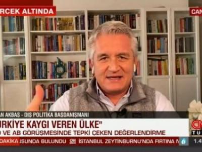 CNN Türk'de tepki çeken ABD AB görüşmesini tartıştık