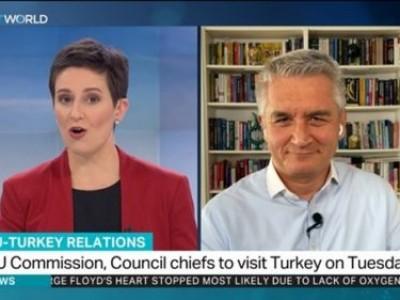 TRT World'de AB Başkanlarının Türkiye'ye yaptıkları ziyareti değerlendirdik