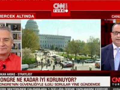 CNN Türk'de ABS Kongre Binasına yapılan saldırı sonrasında güvenliğini tartıştık