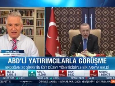 Cumhurbaşkanı Erdoğan'nın ABD'li yatırımcılarla yaptığı Video Konferansı A Para'da Serdar Kuter ile değerlendirdik