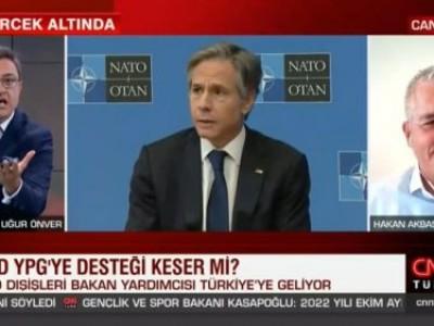 ABD Türkiye arasındaki diplomatik temas ve ziyaret trafiği, ikili ilişkiler ile Haziran NATO Liderler Zirvesi için planlanan Biden-Erdoğan görüşmesini CNN Türk'de Uğur Önver ile değerlendirdik