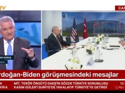 Berfu Güven ile NTV'de NATO zirvesinde görüşen Erdoğan-Biden toplantısının değerlendirmesini yaptık