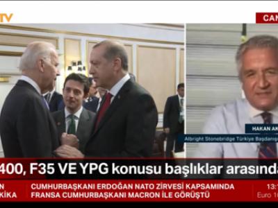 NTV'de NATO zirvesinde görüşecek olan Erdogan-Biden'nin S400, F35 ve YPG konularının gündemde olacağını tartışıyoruz
