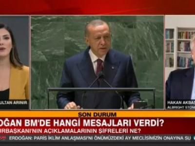 CNN Türk'de Sultan Arınır ile Erdoğan ve Biden'nın BM'de verdikleri tarihi mesajları değerlendirdik